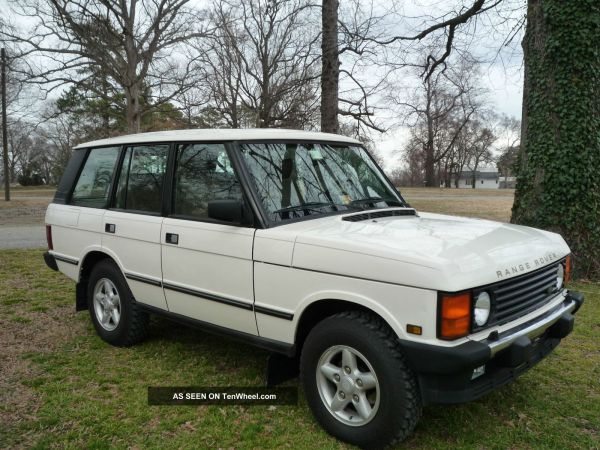 1995 Range Rover Classic - Year of Clean Water