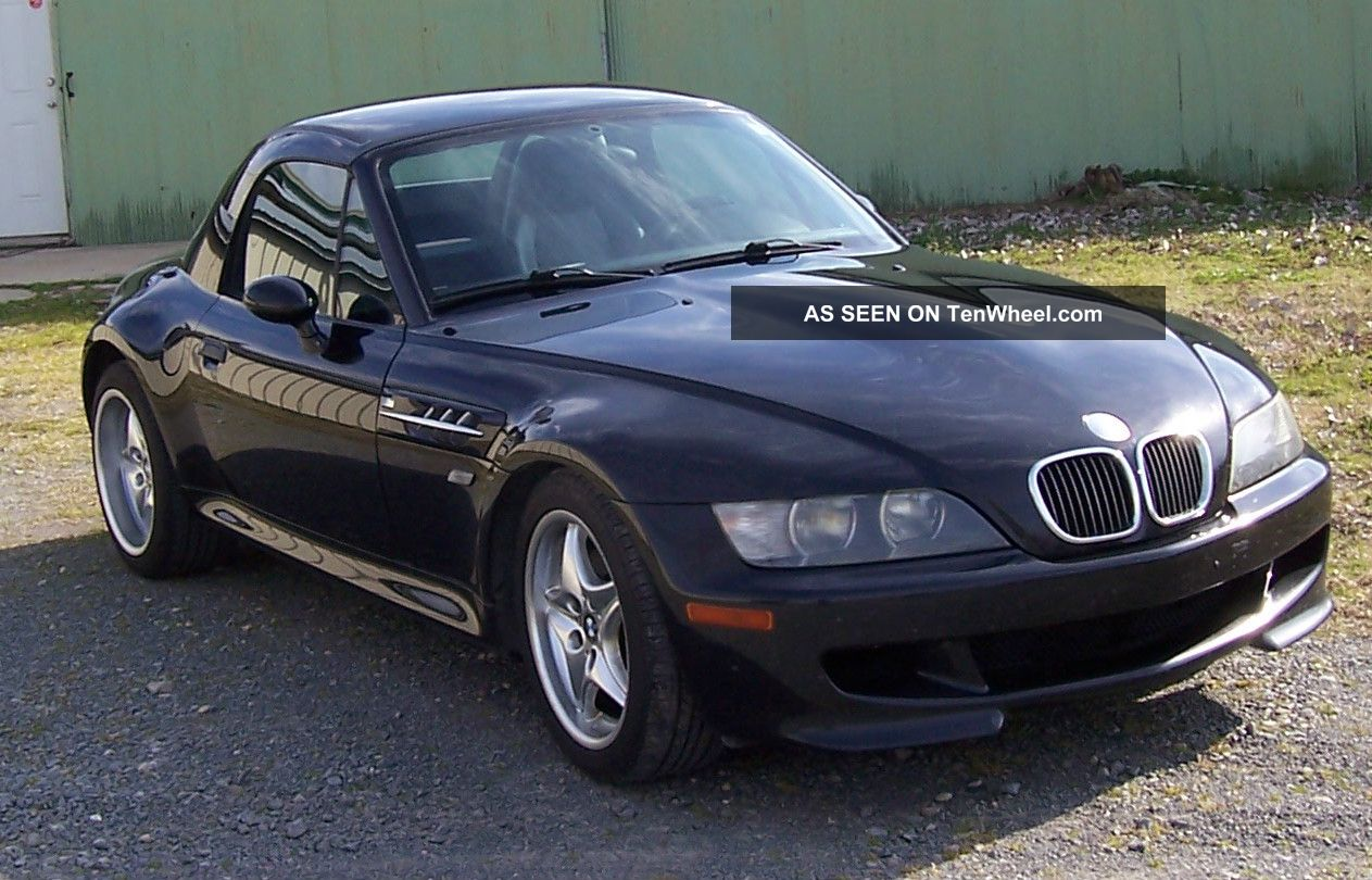 hight resolution of bmw z3 m series roadster 2000 model removable factory hard top metalic black
