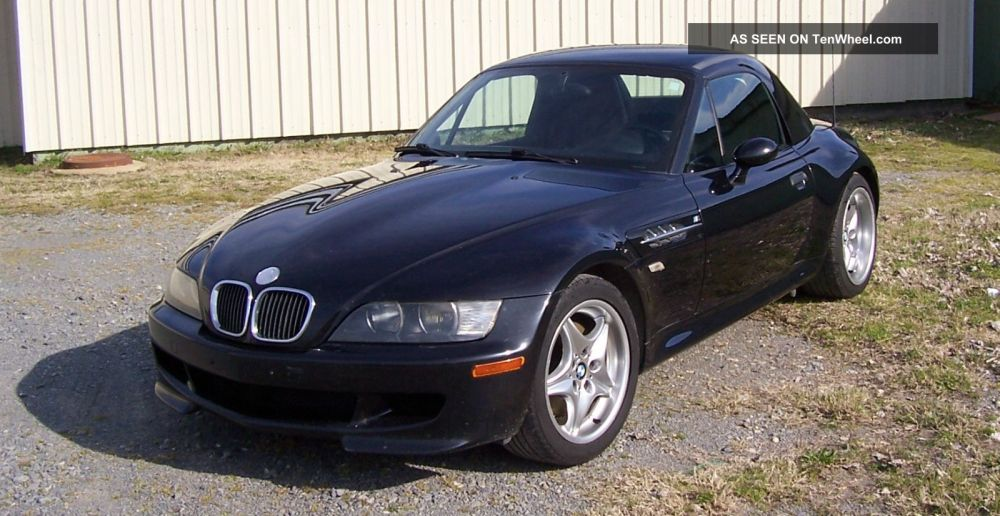 medium resolution of metalic black m bmw z3 m series roadster 2000 model removable factory hard top