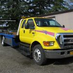 2006 F650 Flatbed Tow Truck