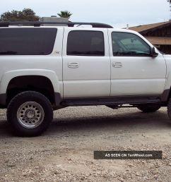 2003 chevy suburban 2500 4x4 duramax diesel lb7 conversion [ 1600 x 1066 Pixel ]