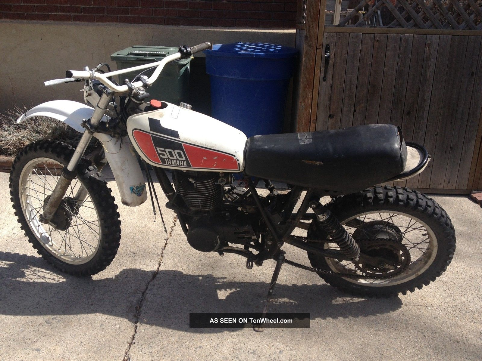 hight resolution of 1976 yamaha xt500 tt500 xt tt 500 vintage ahrma dirt enduro motorcycle bike ship