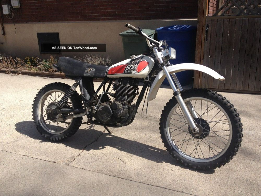 medium resolution of 1976 yamaha xt500 tt500 xt tt 500 vintage ahrma dirt enduro motorcycle bike ship