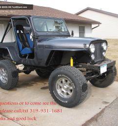 1976 jeep cj5 frame off crawler dana lifted v8 tube fenders cage cj 5 7 photo [ 1600 x 1200 Pixel ]