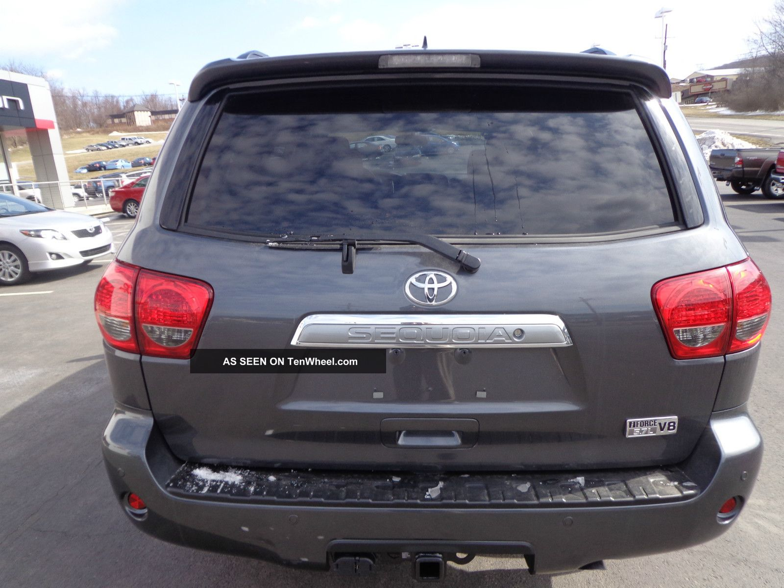 toyota 4runner captains chairs bedroom chair price 2013 sequoia platinum 4x4 rear camera 3rd row seat 4wd r