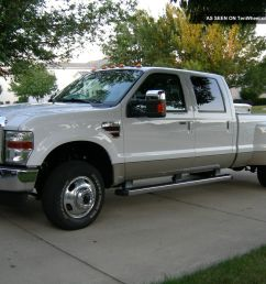 2010 ford f 350 lariat ultimate dually 4x4 6 4l turbo diesel 2011 2009 2008 [ 1600 x 1200 Pixel ]