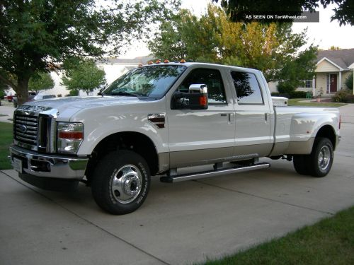 small resolution of 2010 ford f 350 lariat ultimate dually 4x4 6 4l turbo diesel 2011 2009 2008