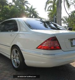 2002 mercede s500 white [ 1600 x 1200 Pixel ]