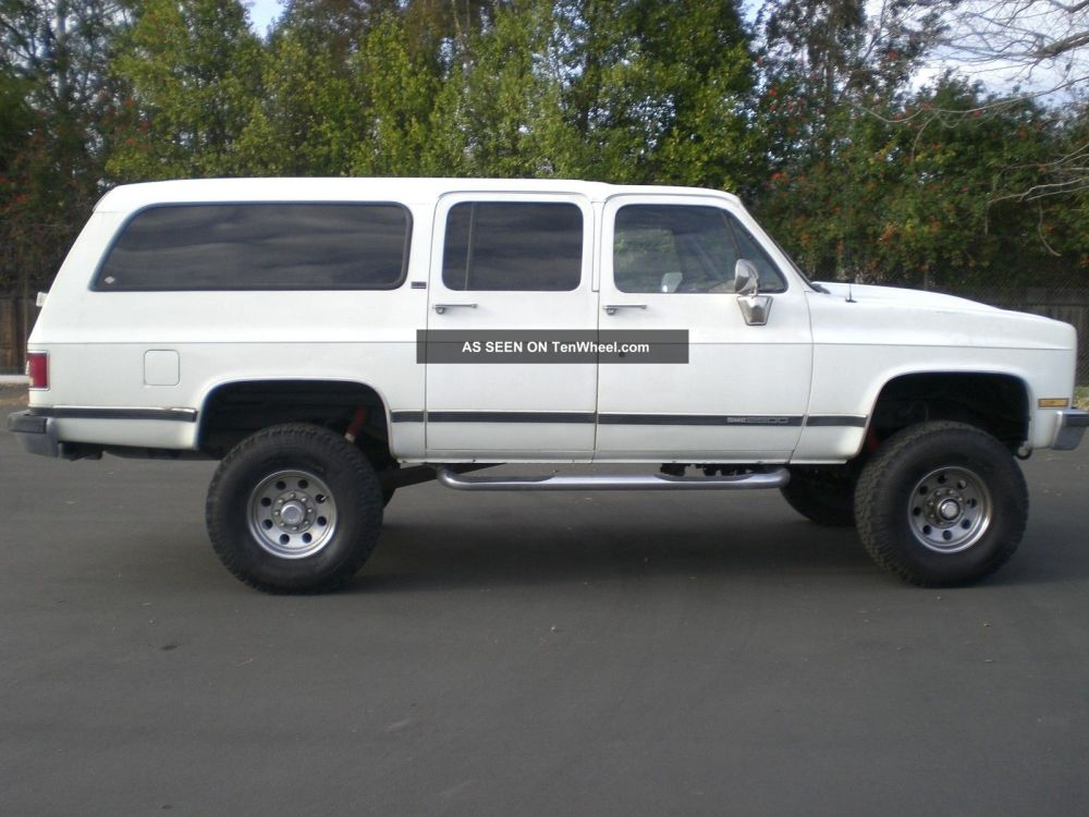 medium resolution of 1994 chevy suburban 2500 4x4 autos post