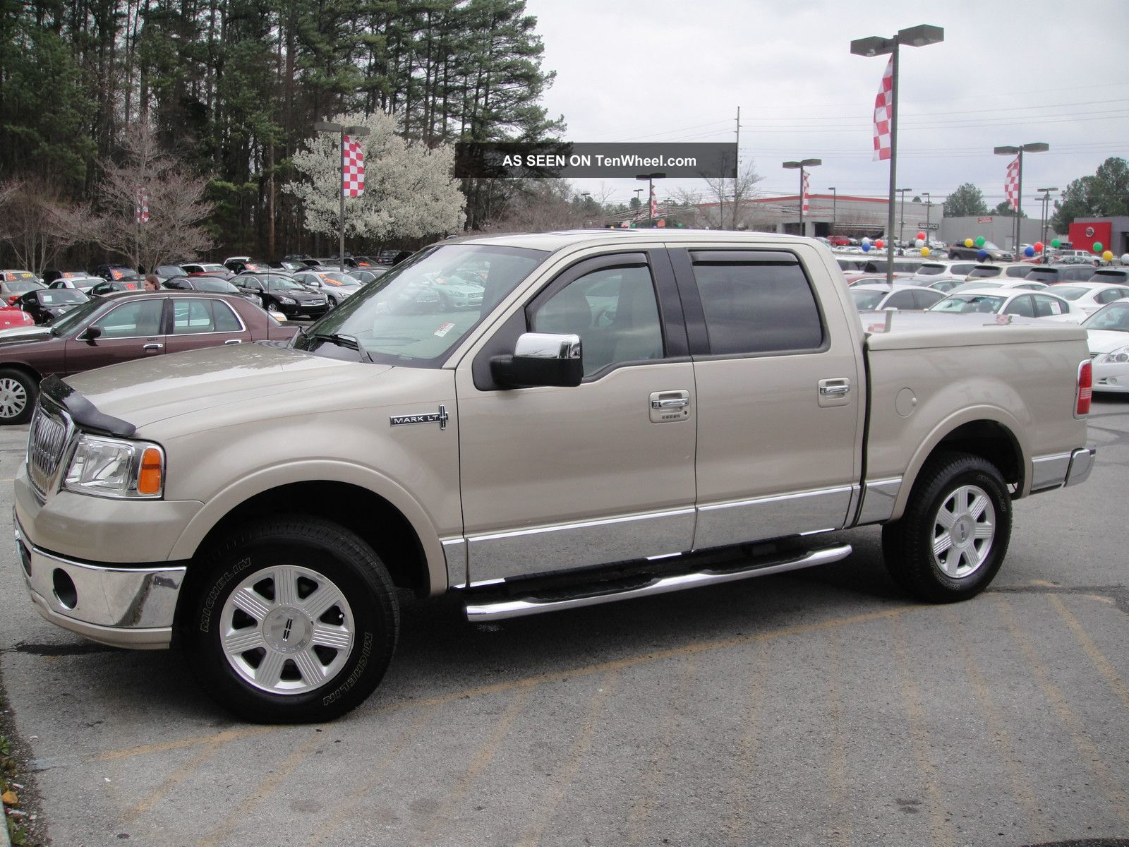 hight resolution of 2008 lincoln mark lt 4wd crew cab pickup 4 door 5 4l 2nd owner local trade in