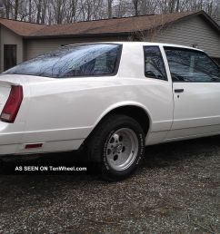 1987 chevrolet monte carlo ss aerocoupe aero coupe 87 chevy sport v8 auto [ 1600 x 901 Pixel ]
