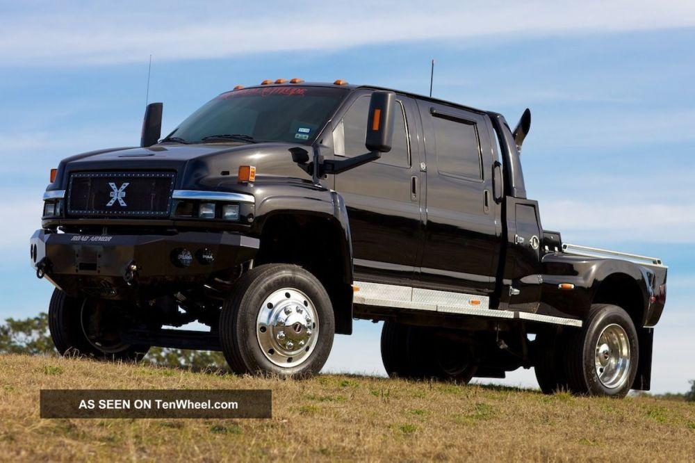 medium resolution of 2004 gmc c4500 topkick extreme truck ironhide black 2wd kodiak mxt cxt f650
