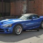 2006 Dodge Viper Srt 10 Convertible 2 Door 8 3l