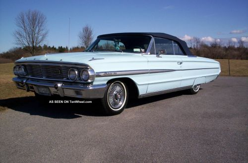 small resolution of 1964 ford galaxie 500 convertible 1964 galaxie 500 xl wiring diagram
