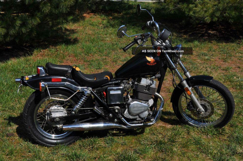 medium resolution of honda rebel 250 for sale 1985 honda rebel 250cc motorcycle