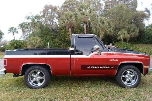 small resolution of 1983 chevy chevrolet pick up pickup c10 silverado v 8 show truck harley davidson wiring 1983 chevy truck wiring