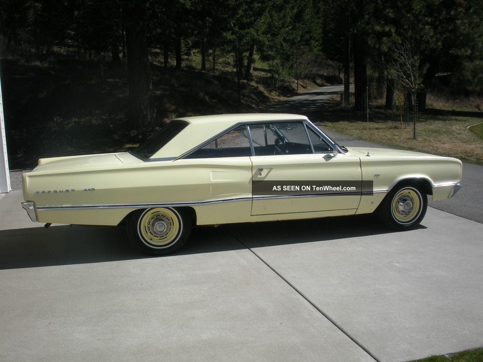 hight resolution of 1967 dodge coro 440 project car rust photo 2