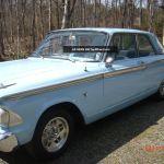 1962 Ford Fairlane 2 Door Sedan 260 V8