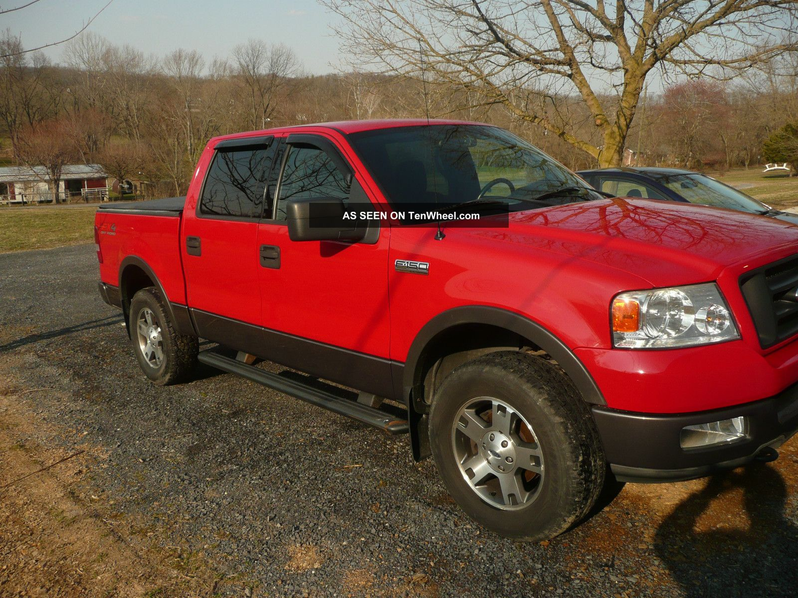 hight resolution of ford f 150 fx4 red