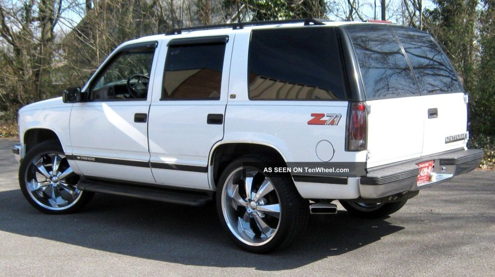 medium resolution of 1999 chevrolet tahoe z71 350 vortec massive sound system great wheels tires