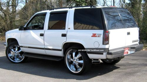 small resolution of 1999 chevrolet tahoe z71 350 vortec massive sound system great wheels tires