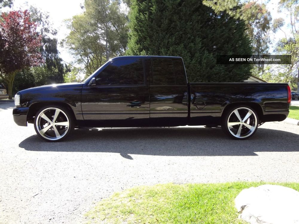 medium resolution of  1996 chevy silverado 1500 fully custom inside out and bagged on 22