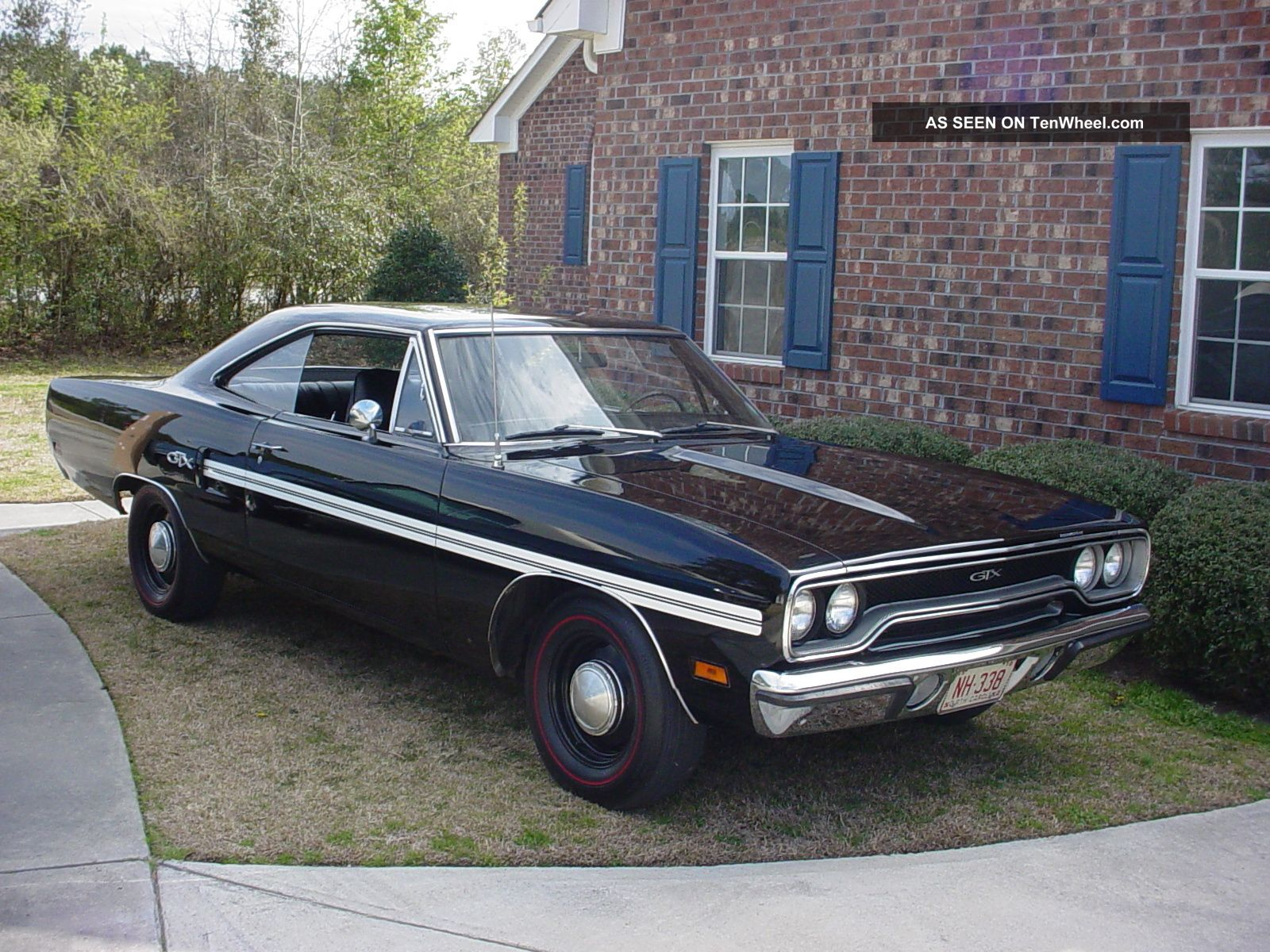 hight resolution of 1970 north carolina gtx black velvet hp 440 numbers matching n 96 air grabber