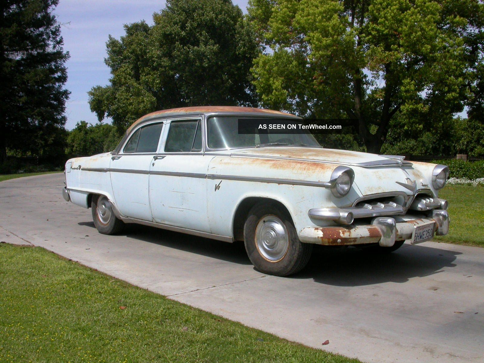 hight resolution of 1955 dodge royal hemi 4 door sedan