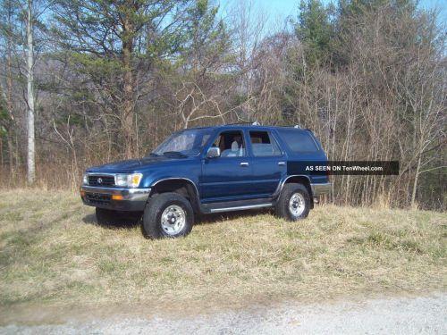 small resolution of 1994 toyota 4runner sr5 sport utility 4 door 3 0l 4x4 4wd v6 runs drives good