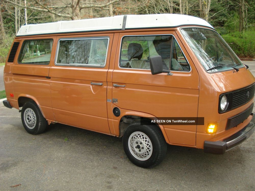 medium resolution of vw bus engine diagram wiring library1982 volkswagen vw vanagon westfalia westy pop top camper diesel rare