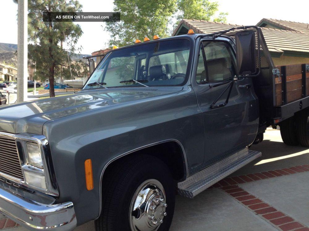 medium resolution of newly 1980 chevy 1 ton truck dually flatbed 2 door with many extras rh tenwheel com