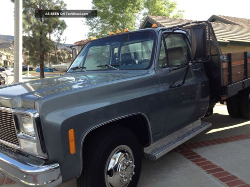 small resolution of newly 1980 chevy 1 ton truck dually flatbed 2 door with many extras rh tenwheel com