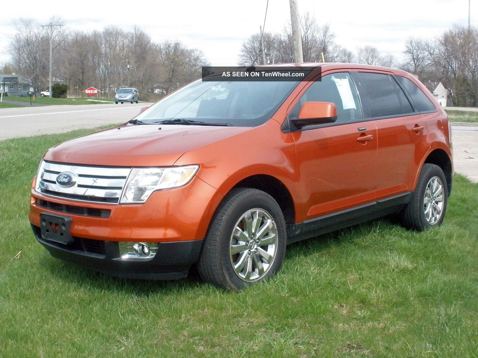 hight resolution of 2007 ford edge sel sport utility 4 door 3 5l2007 ford edge engine details and diagrams