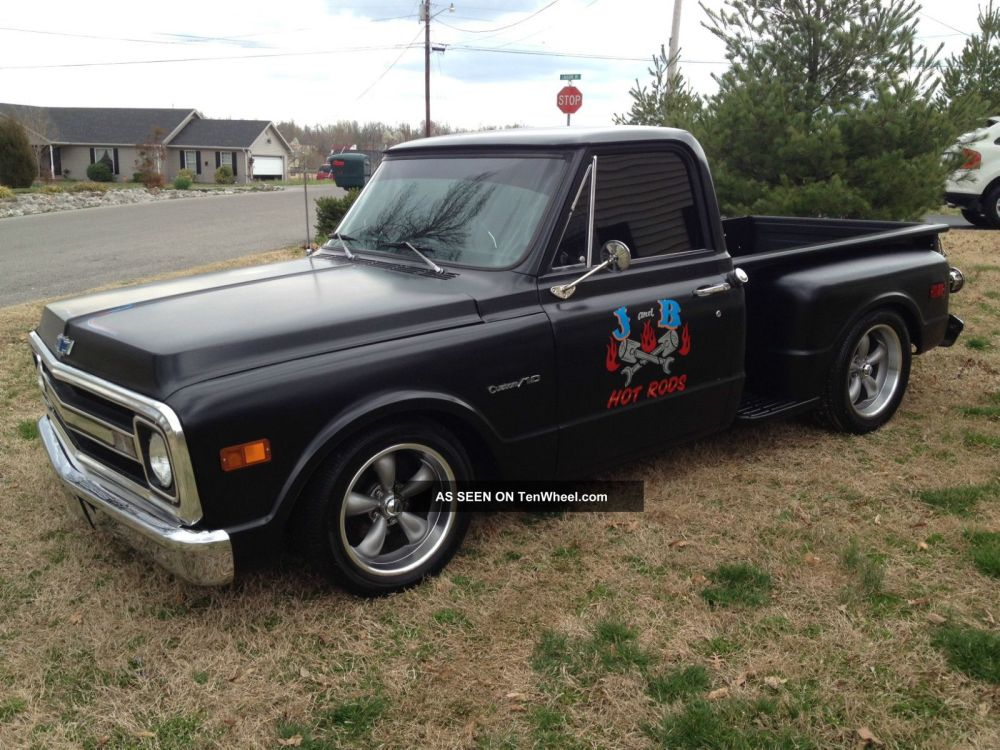 medium resolution of 1969 chevy c 10 c10 truck hot rod rat shop truck custom chevrolet pickup must