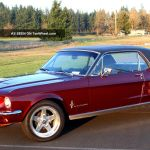 1967 Ford Mustang Coupe 289 V8 Restomod C4 Great Pony Daily Driver