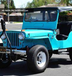 1960 willys jeep cj5 running gear 231 buick v6 warn overdrive 4x4 4wd jeep cj5 v6 [ 1200 x 800 Pixel ]