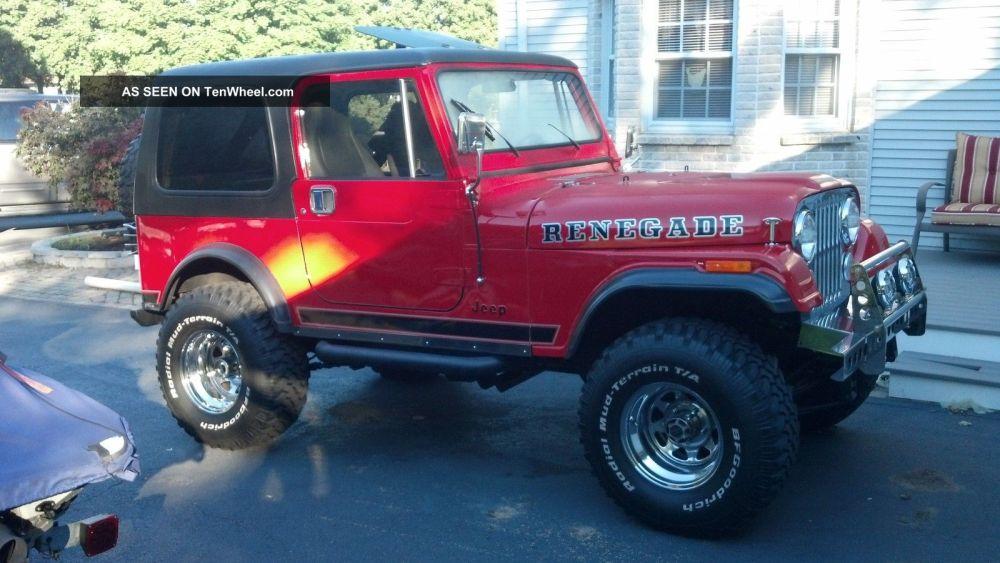 medium resolution of 1980 jeep cj7 renegade chevy 350 conversion