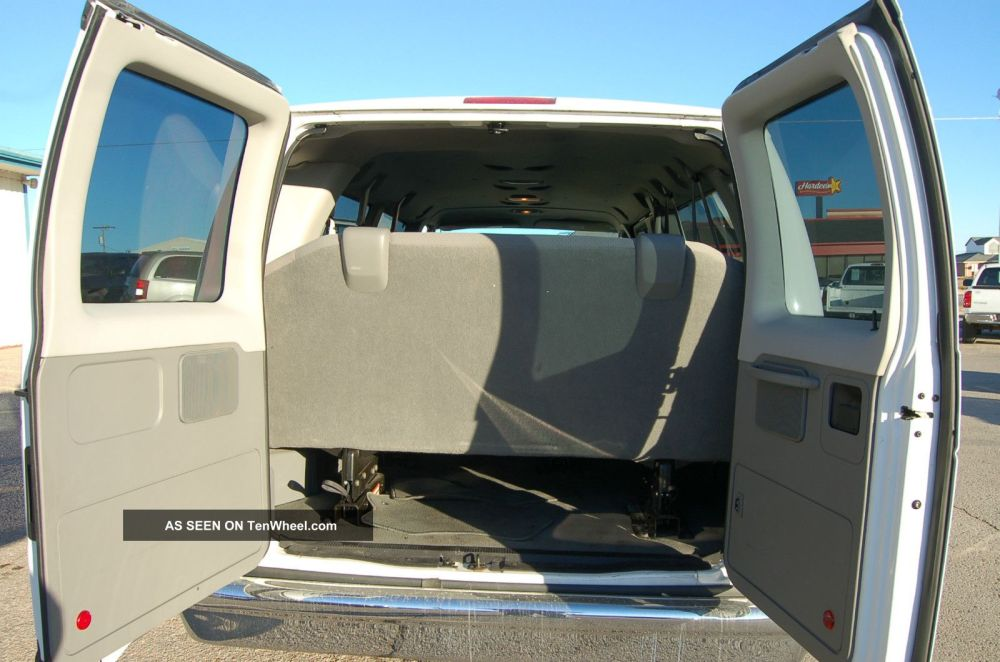 medium resolution of ford e 350 passenger van interior