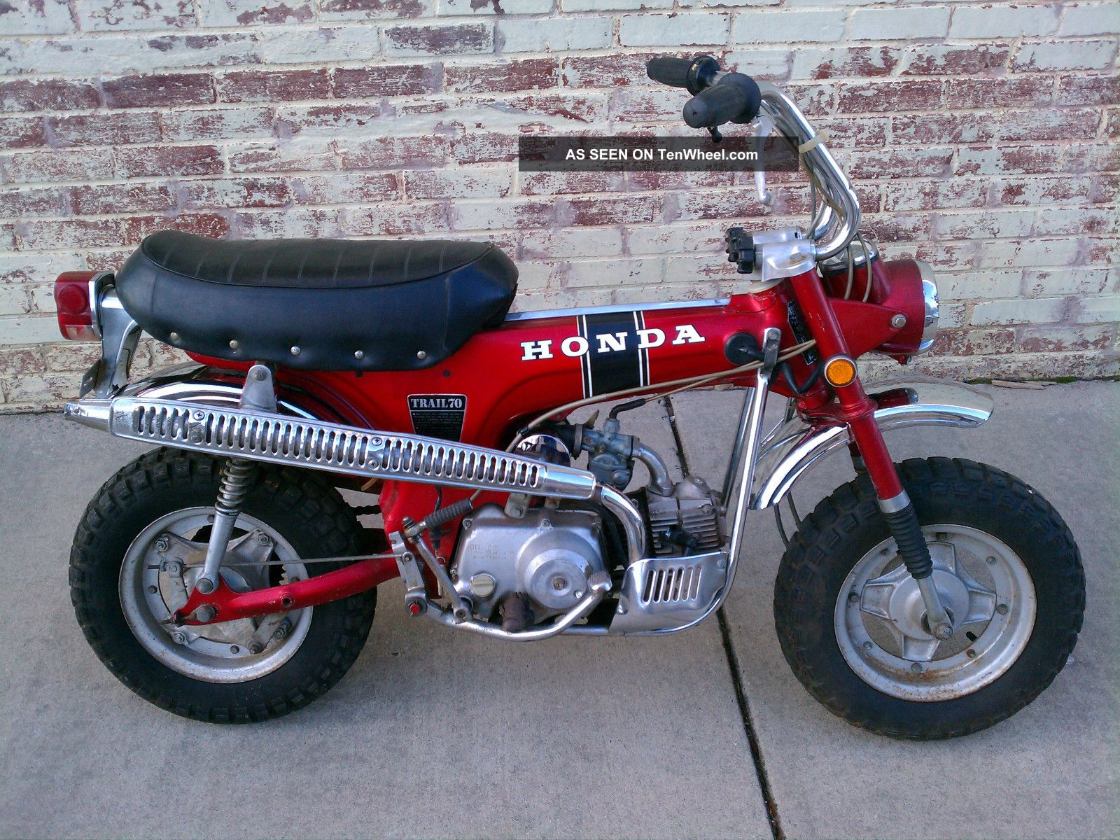 1970 Honda Trail 70 Parts Ct70