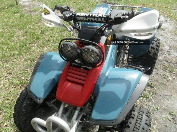 1996 Yamaha Warrior 350
