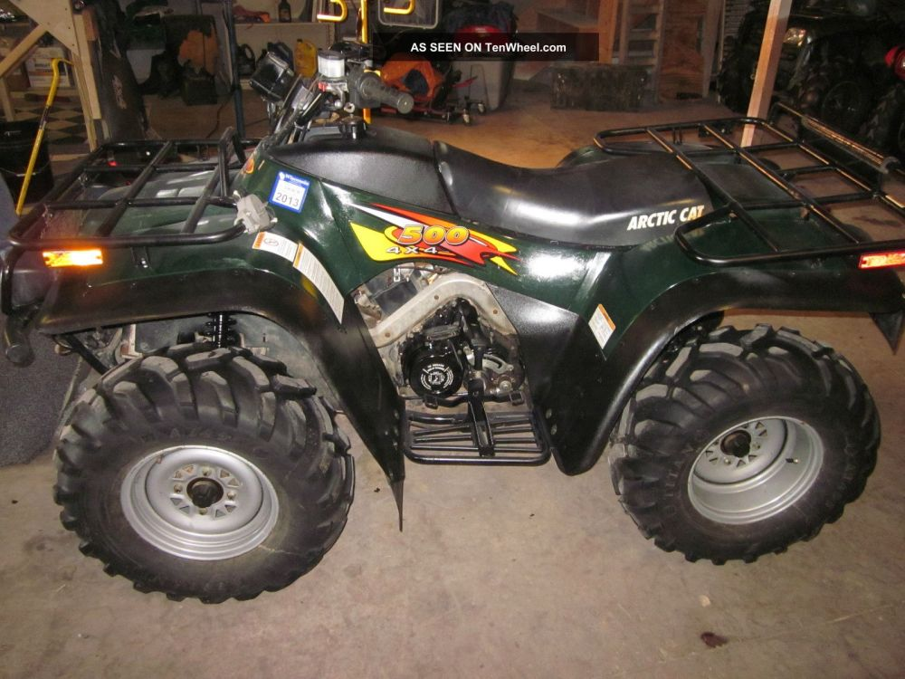 medium resolution of 1999 arctic cat 500 4x4