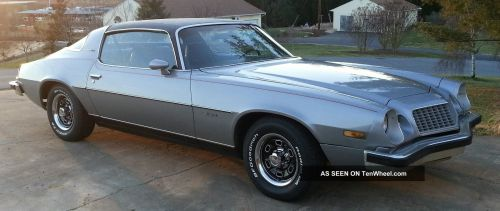 small resolution of 1976 chevrolet camaro type lt 350 350 w build sheet almost s matching