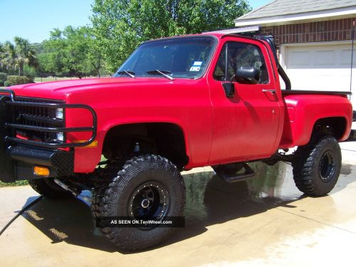 small resolution of bad a 1981 chevy truck rhino inside and out fully equipt digital loaded