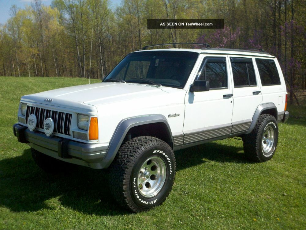 medium resolution of 1995 jeep cherokee country 4x4 lifted