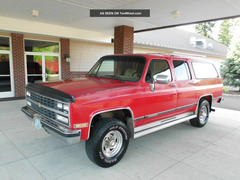 medium resolution of 1989 suburban