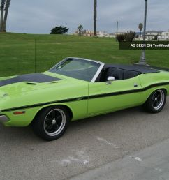 1970 dodge challenger rt convertible 426ci hemi engine 4 speed manual trans [ 1600 x 1066 Pixel ]