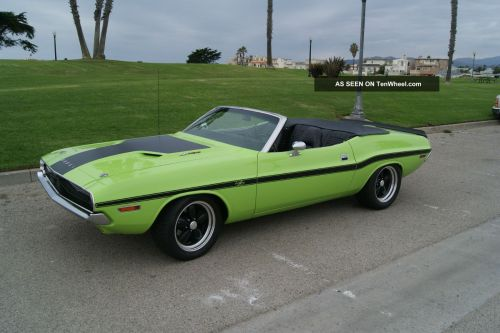 small resolution of 1970 dodge challenger rt convertible 426ci hemi engine 4 speed manual trans