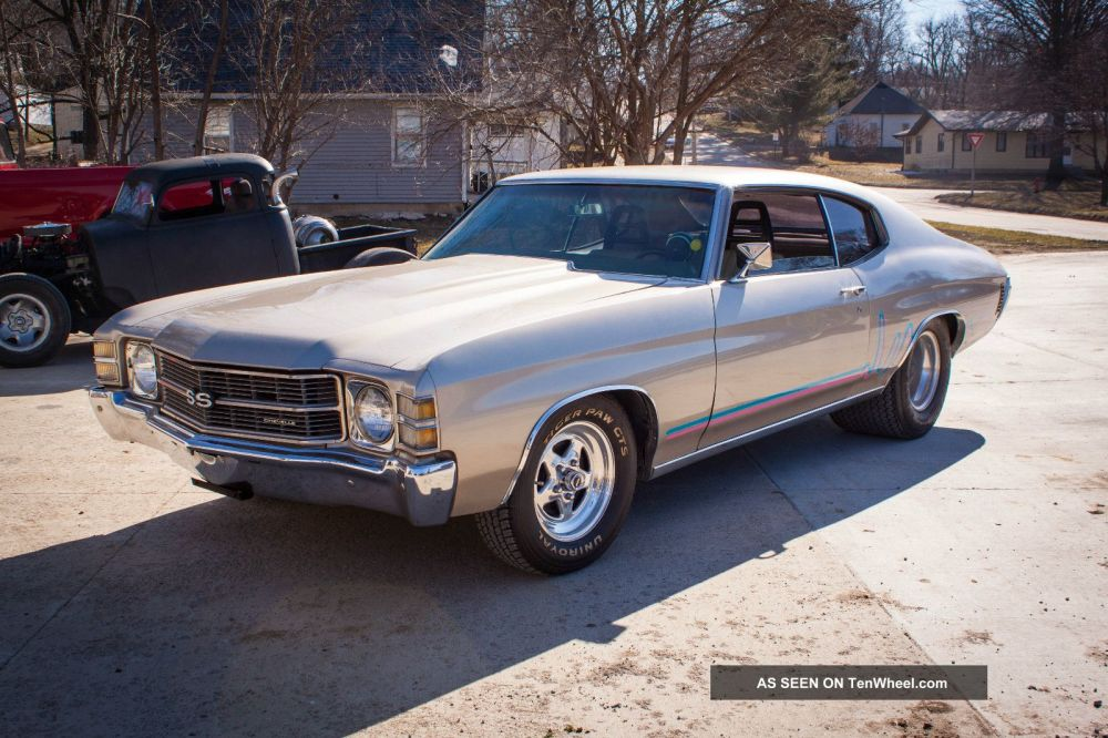 medium resolution of 1971 chevelle pro street rod street legal zz 502ci 502hp gm performance