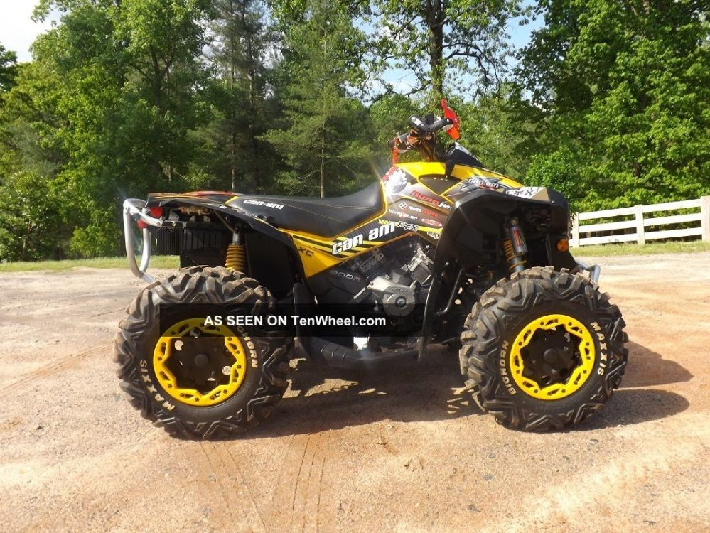 medium resolution of  2010 can am renegade xxc bombardier photo 4