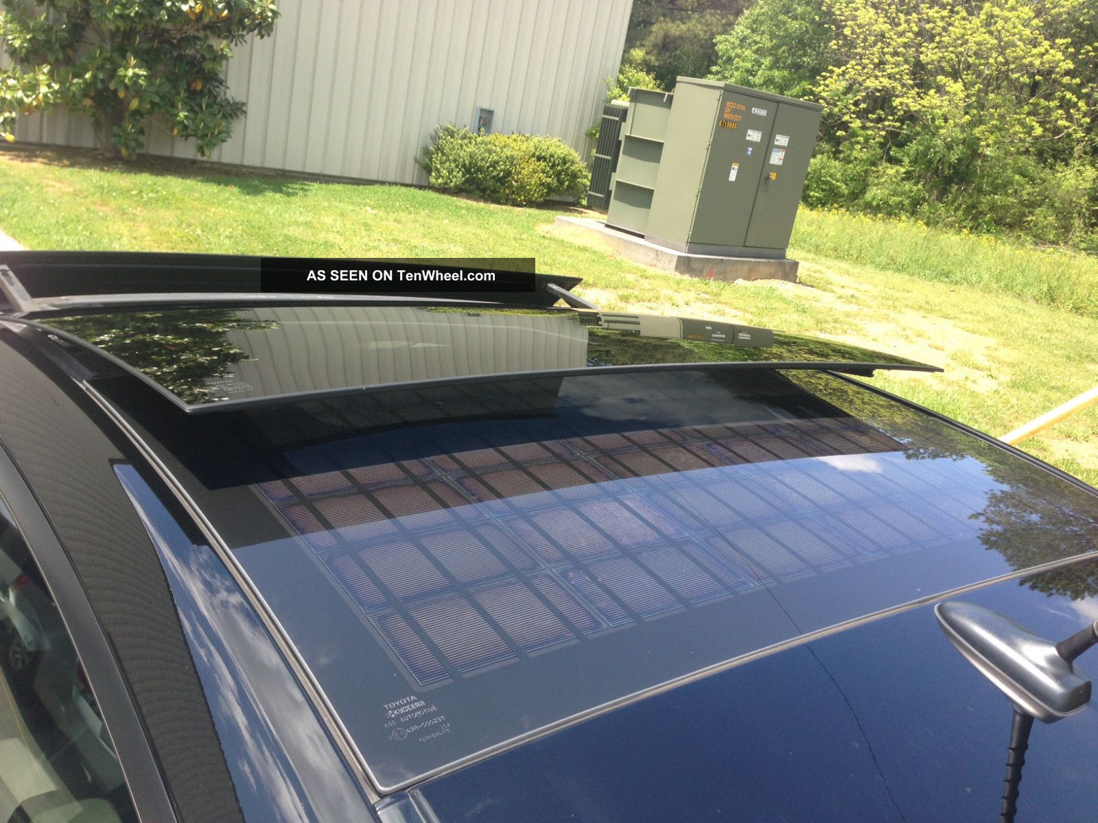 Toyota Prius Solar Roof Panel On Toyota Prius Engine Diagram